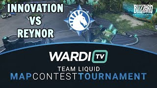 INnoVation vs Reynor (TvZ) - WardiTV TL Map Contest 5 Playoffs