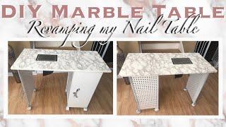 INEXPENSIVE!! DIY Marble Nail …