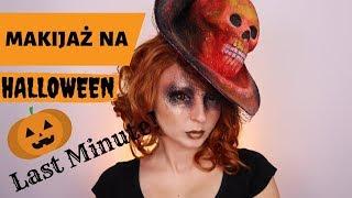 Makijaż na Halloween LAST MINUTE  Banalnie prosty