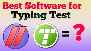 Best Typing Software for qualify typing test in Exam | JKSSB | Junior Assistant !