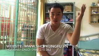 Tự tập võ tại nhà, đòn đỡ, dụng cụ võ thuật, shopkungfu.vn