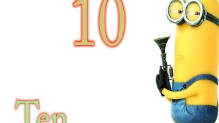 Learn numbers 1 to 10 ,minion, frozan characters,olaf,anna,elsa,sven,kristoff