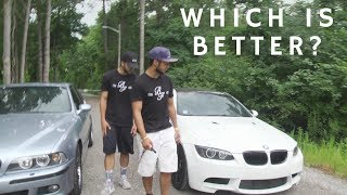 Bmw e92 m3 vs. bmw e39 m5: the ultimate competition (brothers)