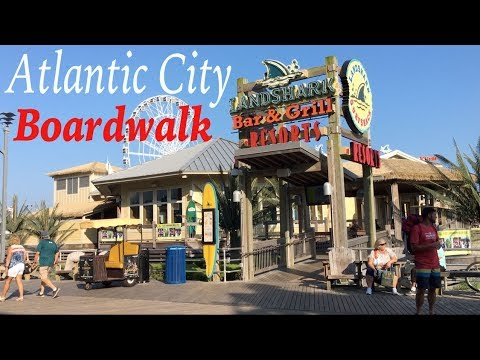 Atlantic City Boardwalk July 2018 Featuring Ocean Views S Restaurants Since 1870