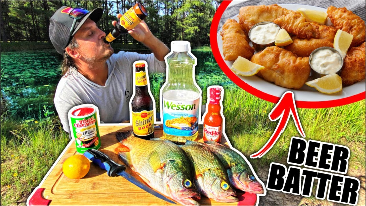 Summer Crappie Catch and Cook!! {DELICIOUS Beer Batter Recipe}