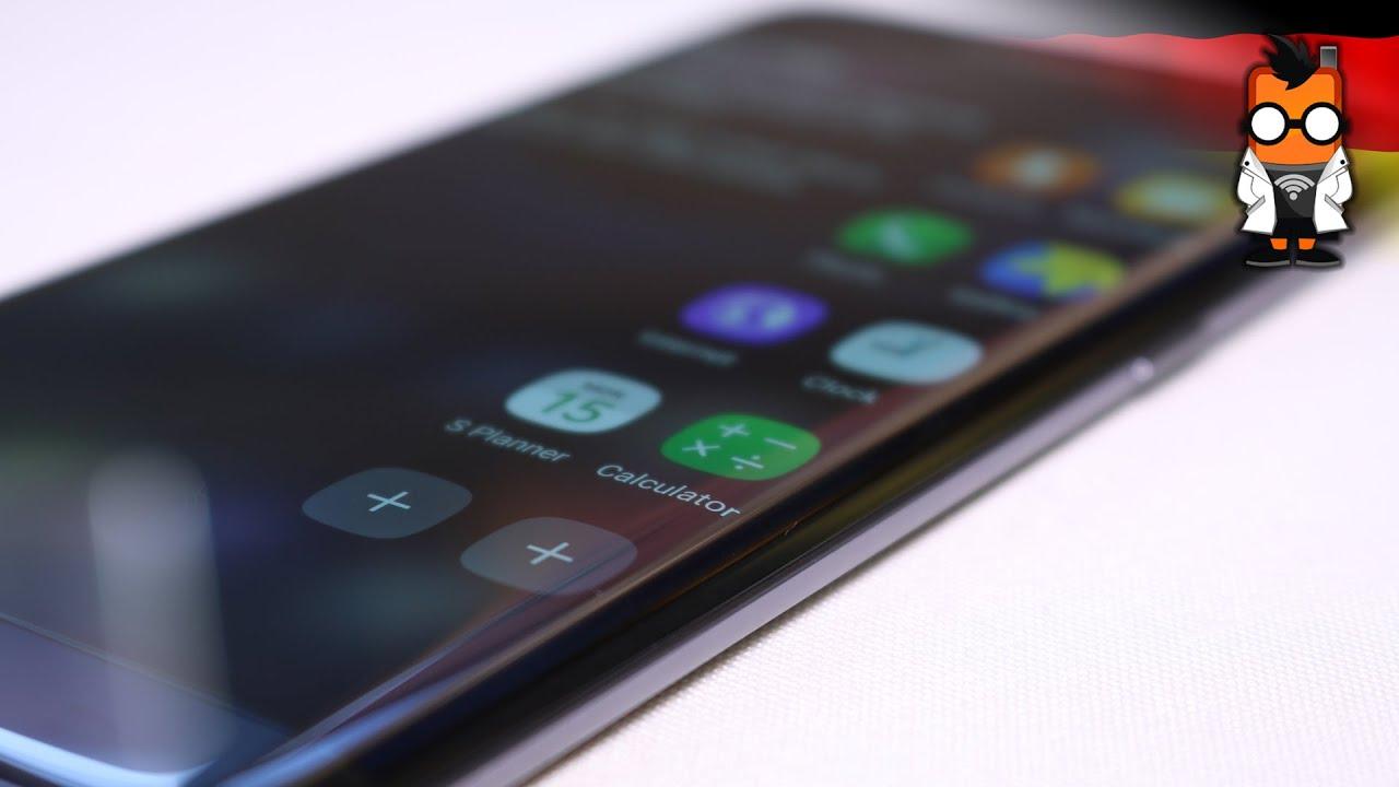 Samsung galaxy s7 edge unboxing deutsch 4k youtube - Samsung Galaxy S7 Edge Hands On Deutsch German