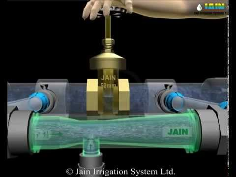 Fertilize Through Drip Irrigation With Venturi Injectors