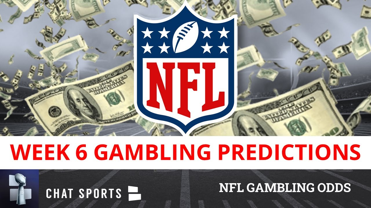 nfl 2021 week 6 betting lines