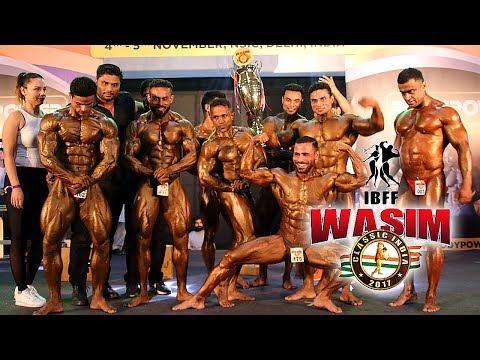 Wasim Khan (Mr. India) (Mr World) Organised first Wasim Classic at Bodypower 2017 Delhi