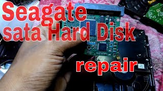 seagate hard disk not detected. Does it spin? solve easy