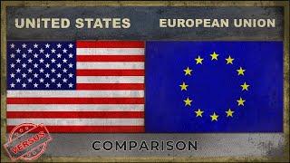 UNITED STATES vs EUROPEAN UNION   Military Comparison (2018)