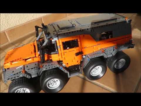 Lepin 23011 Avtoros Shaman 8x8