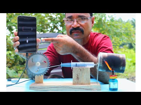 Stirling engine part 2 || how to make at your home ||