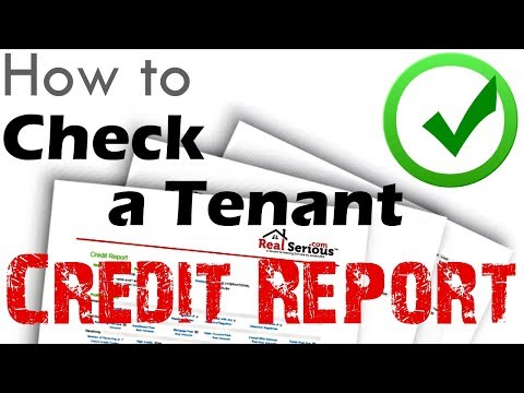 How To Check A Tenant's Credit Report | American Landlord