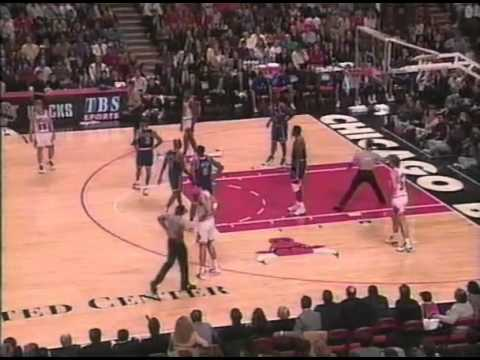 95/96 Chicago Bulls vs New York Knicks (06.12.1995)