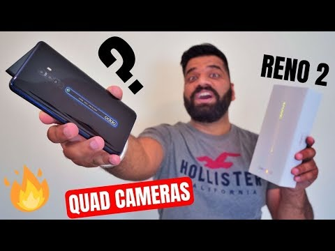 Oppo Reno 2 Unboxing & First Look - Premium Looks with 4 Camera Fun 🔥🔥🔥