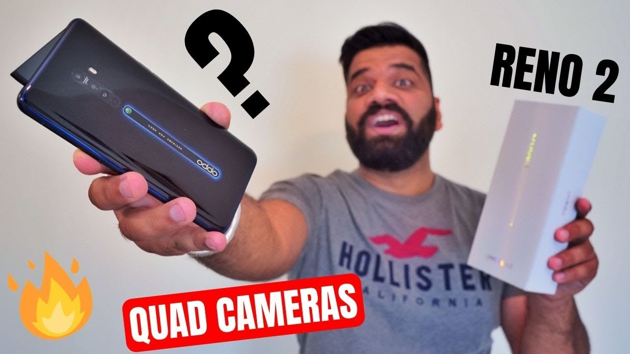Oppo Reno 2 Unboxing & First Look - Premium Looks with 4 Camera Fun ????????????