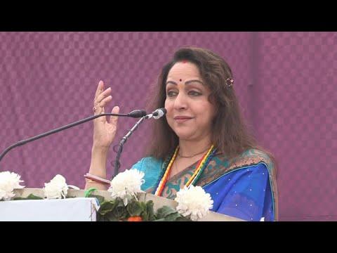 "Speech Hon'ble Mrs. Hema Malini - Launch of ""Sulabh Sanitation Campaign"" at Rawal Village, Mathura"