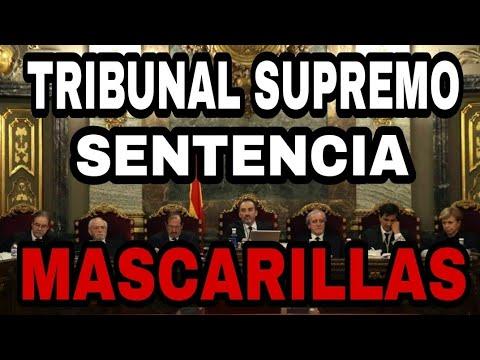 ÚLTIMA HORA. EL TRIBUNAL SUPREMO SENTENCIA SOBRE LA MASCARILLA obligatoria.