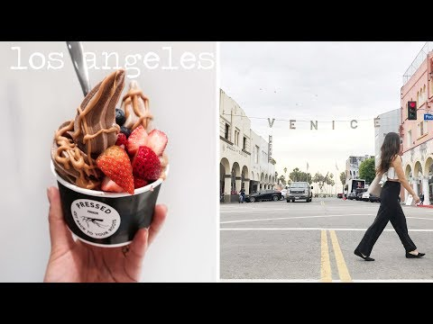 What I Ate in Los Angeles | Vegan Food + Shopping