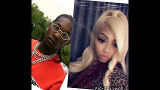 CUBAN DOLL RUNS FROM ASIAN DOLL AND TRYS TO HOOKUP WITH OFFSET