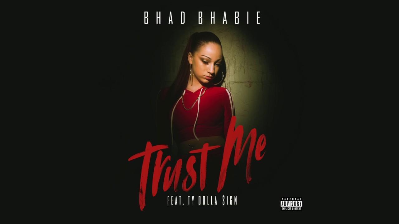 "BHAD BHABIE feat. Ty Dolla $ign - ""Trust Me"" (Official Lyric Video) | Danielle Bregoli"