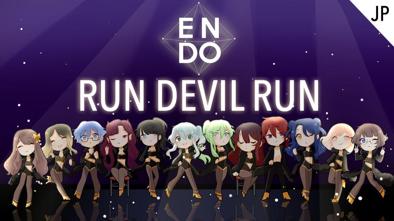 【ENDO】 RUN DEVIL RUN (JPN) - Girls' Generation 소녀시대 【10人合唱】