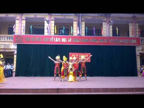 Tiết Mục Văn Nghệ Chào Mừng 20-11 THPT Yên Lạc Lớp 10A5 2014-2015