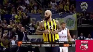 Pero Antic THY Euroleague Harika Üçlük Ve Smaç - Fenerbahçe Ülker 67 - Brose Baskets Bamberg 66