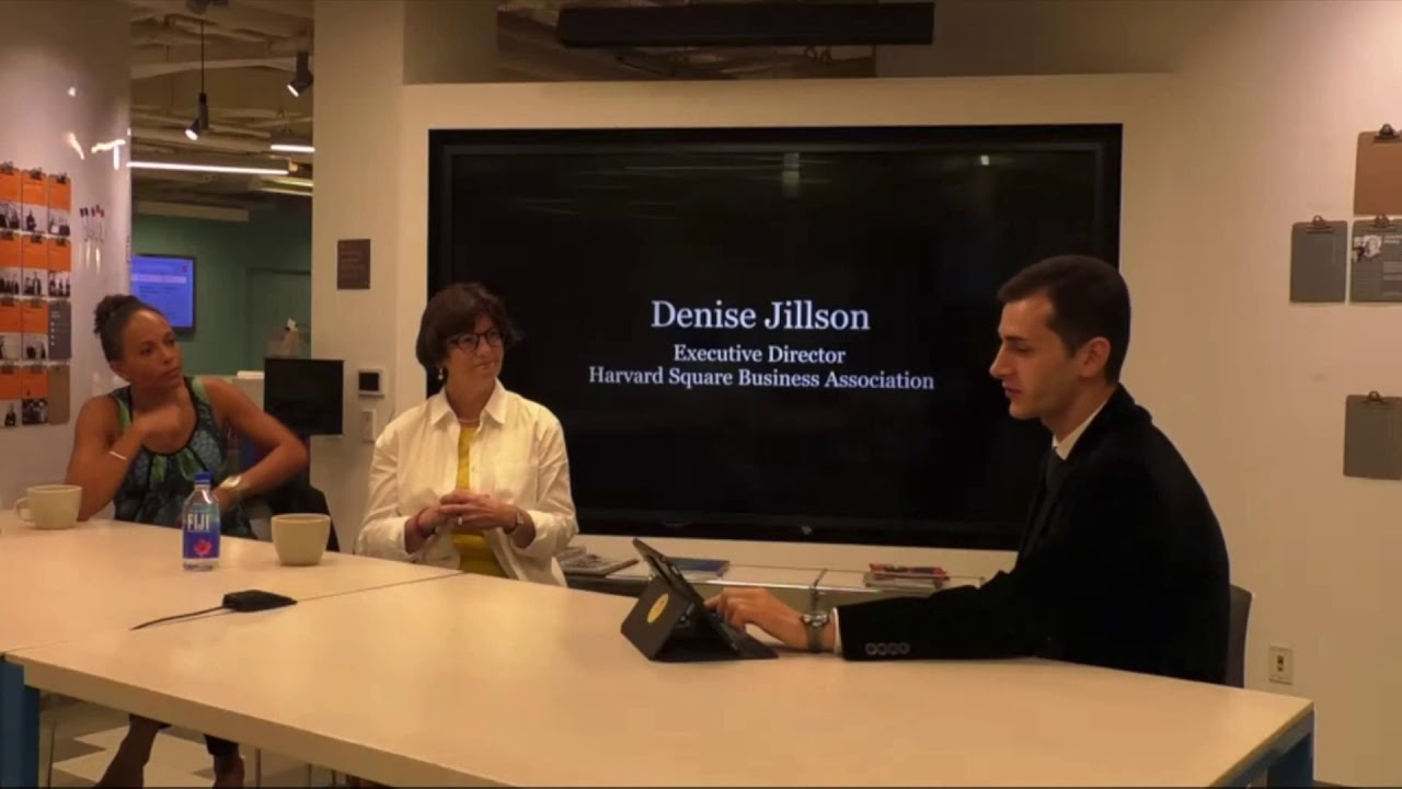 Denise Jillson On Harvard Square