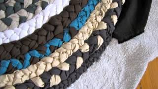 Repeat youtube video How to create a mat of waste cloth