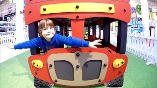 Timko and the Wheels on the Bus Play Area