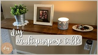 DIY Multipurpose Table⎪Entry, Sofa, or Laptop Table