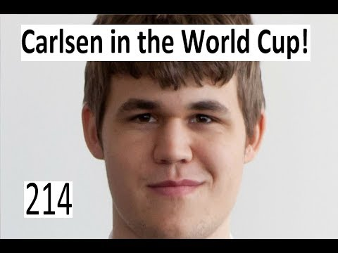 Magnus Carlsen in the World Cup!