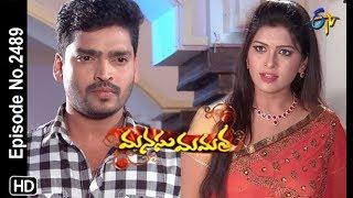 Manasu Mamata   11th January 2019     Full Episode No 2489   ETV Telugu