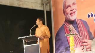 chakravarthy sulibele speech in NaMo brigade, hassan