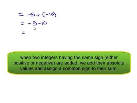NCERT Solutions for Class 7 Maths Chapter 1 Integers Ex 1 1 Q2