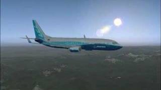 Boeing 737 - Germany to Italy - FSX