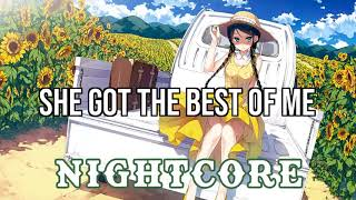 (NIGHTCORE) She Got the Best of Me - Luke Combs Video
