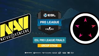 Na`Vi vs ORDER - ESL Pro League S8 Finals - bo1 - de_mirage [TheCraggy & SSW]