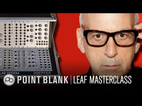 Daniel Miller (Mute Records) Modular Synth Masterclass at LE