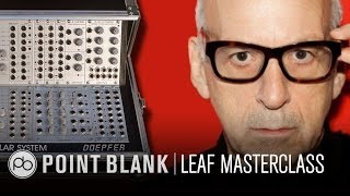 Daniel Miller (Mute Records) Modular Synth Masterclass at LEAF 2013