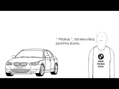 "BMW 5 "" Pitakas """