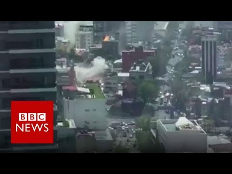Today in History: Mexico City was struck by a devastating earthquake