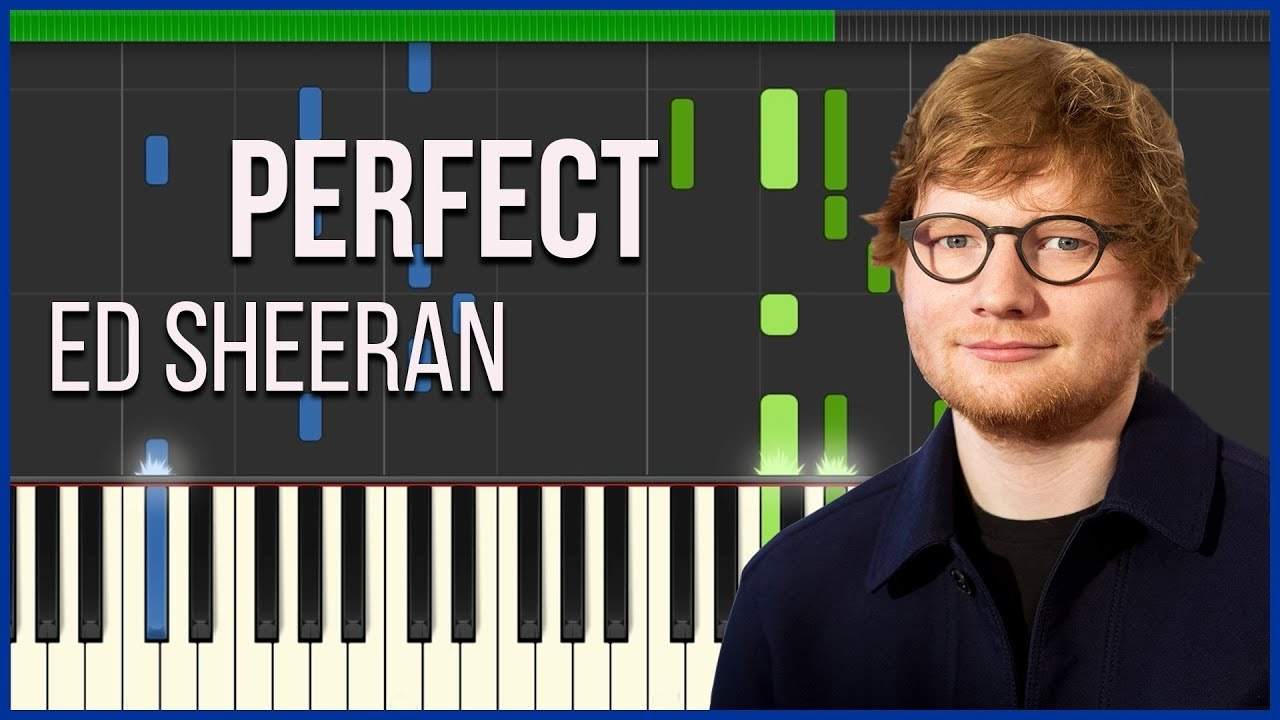 ed sheeran perfect piano pdf