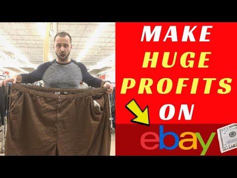 How To Make HUGE Profits Selling on eBay
