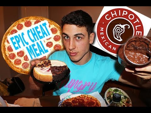 Most EPIC Cheat Meal Day| 3,000 Calories A Day!