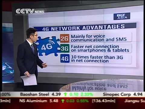 China issues 4G licenses to three Chinese telecom operators