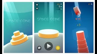 Space Cone Gameplay - Android Game 2018 🔥🔥