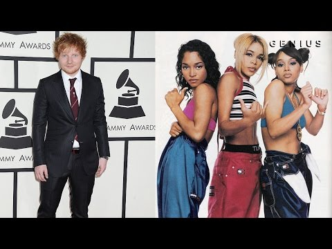 "Ed Sheeran Admits That ""Shape Of You"" Uses TLC's ""No Scrubs"" Melody"